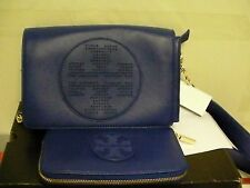 Tory Burch Kipp Crossbody and kipp zip continental wallet blue nile 2 pieces