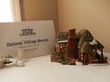 Department 56 Dicken's Village Crooked Fence Cottage  #58304