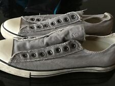 Converse By John Varvatos Laceless Sneakers In Gray Size 9 S3817