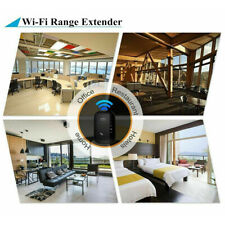 Wireless WIFI Repeater Ethernet Port High Speed Range Extender Signal Booster