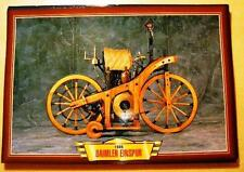 DAIMLER EINSPUR PRE PIONEER VINTAGE CLASSIC MOTORCYCLE BIKE 1880'S  PICTURE1885