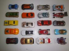 Lot of 24 Hot Wheels die cast toys cars/vehicles hot rods race cars