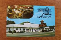 1950s Postcard Archie's Lobster House Restaurant Roanoke Virginia Old Cards