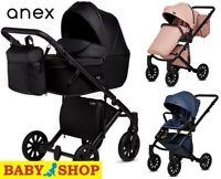 Stroller ANEX e/type CROSS 2in1 2019 Pushchair Sport seat Pram Carrycoat