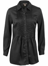 Polyester No Pattern Casual Tops & Shirts for Women
