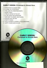 CARLY SIMON Christmas is almost here ADVNCE PROMO DJ CD JOHN LENNON TRK Beatles
