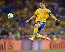 Zlatan Ibrahimovic Swedish Superstar Volley 10x8 Photo