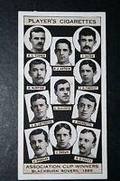 Blackburn Rovers  1885   FA Cup Winning Team   Vintage Card # VGC
