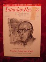 Saturday Review August 28 1948 HARVEY ALLEN DUKE ELLINGTON +