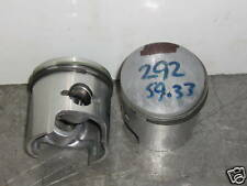 vintage chaparral 292 twin pistons  .50 mm oversize bore  free ship  fan cooled