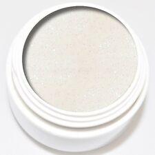 5 ml KM-Nails Diamant Glitter Gel weiß ! Kein absinken des weißen Glitters