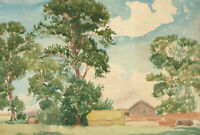 Two Early 20th Century Watercolours - English Landscapes