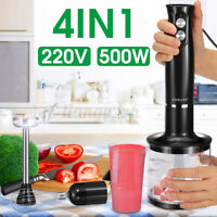 4 in1 SOKANY Electric Hand Held Stick Blender Mixer Vegetable Juicer Grinder