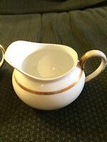 VINTAGE JAPAN NORITAKE NIPPON WAVERLY CREAMER CUP PITCHER & SUGAR BOWL & LID SET
