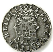 Peace Is Sought by War-HalfCrown Oliver Cromwell / Crowned Shield of Arms 1658