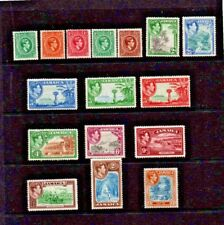 Jamaica 1938   SG121 - SG132ba  (short set)  Cat.value £103.00