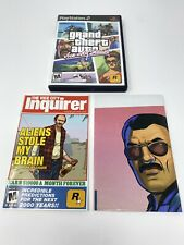 Grand Theft Auto: Vice City Stories (PlayStation 2, 2007 Ps2) Cib w/ Map, Poster