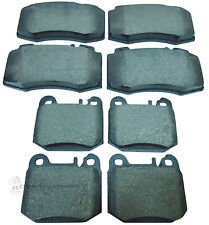 MERCEDES ML ML270 CDi ML320 ML430 00-04 FRONT & REAR BRAKE DISC PADS CHECK TYPE