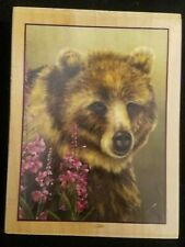 Bear Animal Wood Rubber Stamp Whispers 2003 Sherry Nelson Sugar Loaf Products