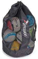 CALCIO coaching precisione CALCIO Net 12 Ball Bag addestramento con maniglia per il trasporto