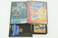 Thunder Force 3 III Genesis Tecno Soft Sega Megadrive Box From Japan