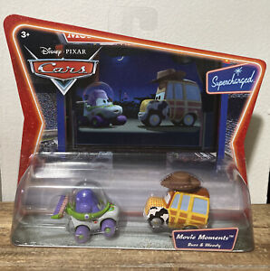 Disney Pixar Cars Supercharged Movie Moments Buzz & Woody Toy Story!