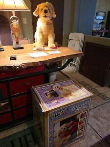 NEW Furreal Friends Golden Retriever Biscuit Plush Dog My Lovin Pup Interactive