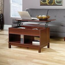 Sauder 418341 Kendall Square Lift-Top Coffee Table Select Cherry Finish NEW