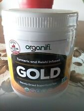Organifi Gold Juice Superfood Pow With Tumeric & Reishi Infused (30ser) new ship