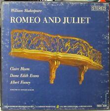Vintage Vinyl Dept: Shakespeare Recording Society LP box set: Romeo and Juliet