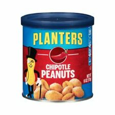 Planters Peanuts Chipotle 6 Ounce Canisters (pack of 8)