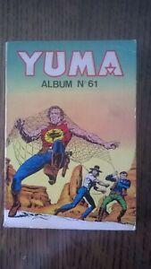 ALBUM YUMA N°61  LUG 1982 TBE (234-235-236)