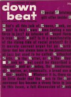 Down Beat Mag Edmond Hall Armstrong's Akwaaba November 24, 1960 101519nonr