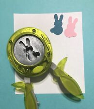 LIMITED EDITION: Fiskars BUNNY HOP Squeeze Punch Rabbit Easter Peeps Scrapbook