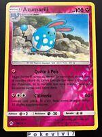 Carte Pokemon AZUMARILL 136/214 Rare Reverse Soleil et Lune 8 SL8 FR NEUF