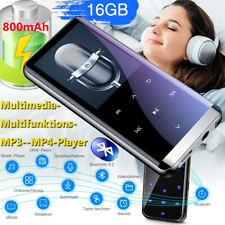 MP3 Player Bluetooth4.2 16 GB,FM Radio HiFi MP4 Musikspieler mit Batterie OTG DE