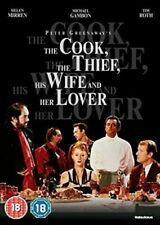 Cook The Thief His Wife and Her Lover 5030697035233 With Michael Gambon DVD