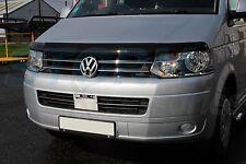 VW Transporter T5 2010-2015 EGR Bonnet Guard Protector - Bug Shield (Dark Smoke)