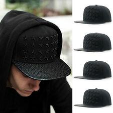 Fashion Women Mens hip-hop baseball cap full embroidery flat tide snapback hat