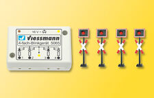 Viessmann 5835 gauge H0 St.Andrew's Cross Diagonal Cross, 4 Piece with