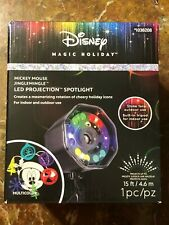 Disney Projection LED Christmas Lights Spot MAGIC HOLIDAY MICKEY MOUSE 1036208