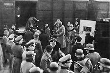 WW2 - Embarquement déportés français à Paris avec l'aide de la police française