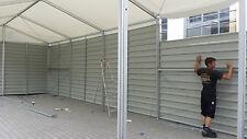 Lagerzelt Lagerhalle 6x12m / Inkl. 1x Schiebetor / TÜV gepr. Statik