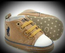 Baby Boy/Girls Polo Ralph Lauren Soft Bottom Crib Shoes, Not in original box
