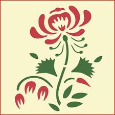 COLONIAL ROSE STENCIL - FLOWER STENCIL - The Artful Stencil