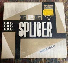 Vintage LPL FILM SPLICER 8 mm - 16 mm In Box w/ Instructions