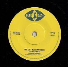 NEW- DERMOTT LYNCH- I've Got Your Number / Hot Shot- BLUE CAT TBX021