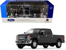 Ford F-250 Crew Cab Super Duty Pickup Truck Magnetic Gray 1/50 Diecast Model Car