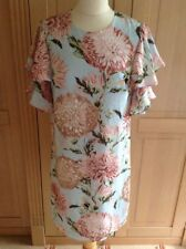 GORGEOUS WAREHOUSE PASTEL COLOURED FLORAL SHIFT DRESS UK SIZE 8 BNWT RRP £55