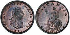 Great Britain. George III. 1799 Farthing, PCGS MS64BN.
